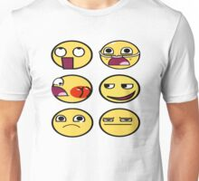 Smiley Family meme Unisex T-Shirt