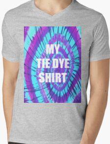 Tie Dye Shirt Mens V-Neck T-Shirt
