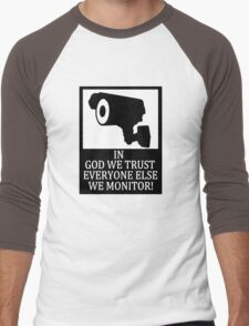 IN GOD WE TRUST Men's Baseball ¾ T-Shirt