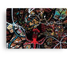 Squid's Universe Canvas Print