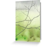 Morn II Greeting Card