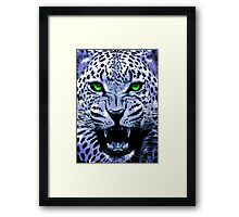 Look into my green eyes Framed Print