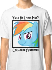 Challenge Accepted Rainbow Dash Classic T-Shirt
