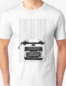A Snowy Overlook Unisex T-Shirt