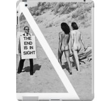 OVERFIFTEEN THE END IS INSIGHT  iPad Case/Skin