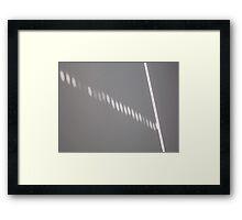Sun Abstract 2 Framed Print