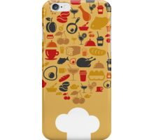 Cap of the cook iPhone Case/Skin