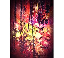 Beads and Baubles Photographic Print