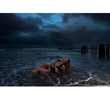 Shipwrecked after the storm Photographic Print