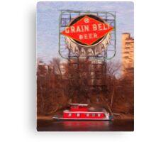 Grain Belt River Life Canvas Print