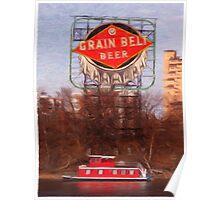 Grain Belt River Life Poster