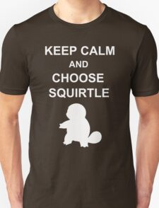 keep calm and choose squirtle T-Shirt