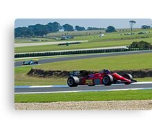 1985 F1 Ferrari  Canvas Print