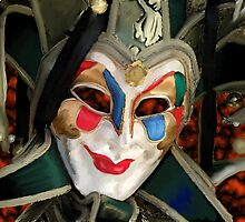 Venice carnival mask by John Ryan