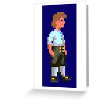 Guybrush (Monkey Island 1) Greeting Card