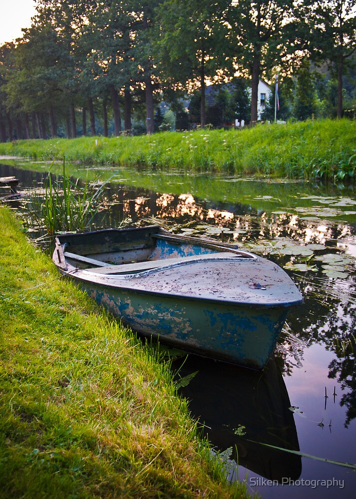 The Family Rowboat by Silken Photography