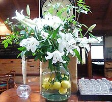 *Lemons & Lilies at Victoria Hotel , Woodend Vic.* by EdsMum