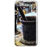 Mortar and Pestle in Chem Lab iPhone Case/Skin