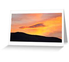 Arrowtown sunrise Greeting Card