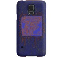 There's a fire in my heart- F for Fire Samsung Galaxy Case/Skin