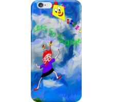 Lets Go Fly a Kite iPhone Case/Skin