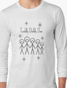 Twiddly Diddly (Black Ink) Long Sleeve T-Shirt