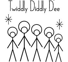 Twiddly Diddly (Black Ink) by SquareDog