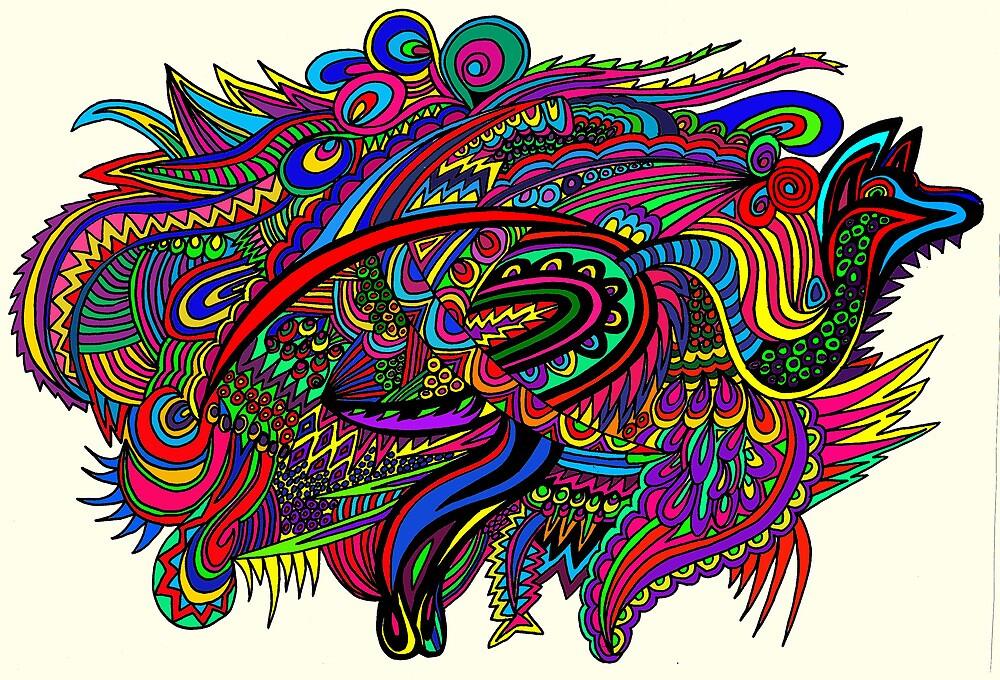 Aussie roo by Karen Elzinga