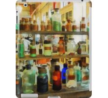 Bottles of Chemicals Green and Brown iPad Case/Skin