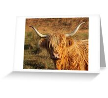 Harry Coo Greeting Card