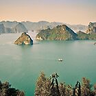 HaLong Bay, Vietnam by Shari Mattox