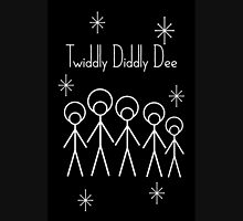 Twiddly Diddly (White Ink) Unisex T-Shirt