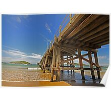 Coffs Jetty sun Poster