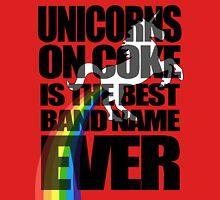 Unicorns On Coke Band Name Unisex T-Shirt