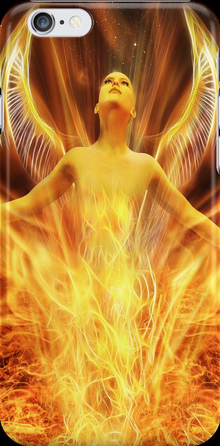Transcendence iPhone case by John Edwards