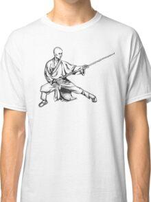 Shaolin Warrior Monk (Kung Fu / Wushu) Classic T-Shirt