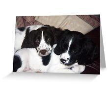 Benson and Jess Greeting Card