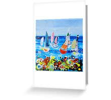 Tropical Delights Greeting Card