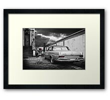 Vintage German car Framed Print