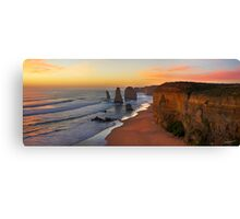 Late Sunset - 12 Apostles Canvas Print