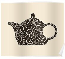 Coffee teapot Poster