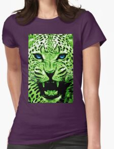 Look into my blue eyes Womens Fitted T-Shirt