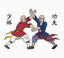 Shaolin Fighting Monks by Chris Serong