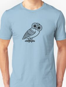 greek owl greece athena T-Shirt