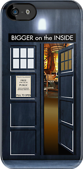 TARDIS, bigger on the inside by ikado