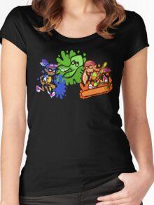 Splatoon! Women's Fitted Scoop T-Shirt