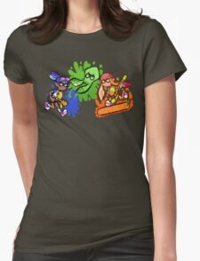 Splatoon! Womens Fitted T-Shirt