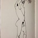 life drawing #1 by abigael whittaker
