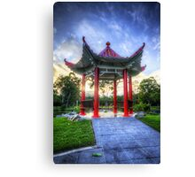 The Red Pagoda Canvas Print