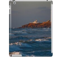 Morocco. Casablanca. Atlantic Ocean. Lighthouse. iPad Case/Skin